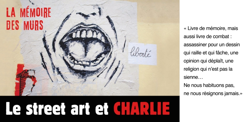 Couv Le street art et Charlie