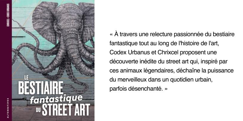Le bestiaire fantastique du street art